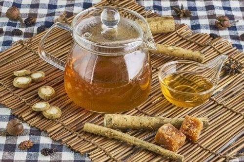リンパの流れを促す5つのお茶