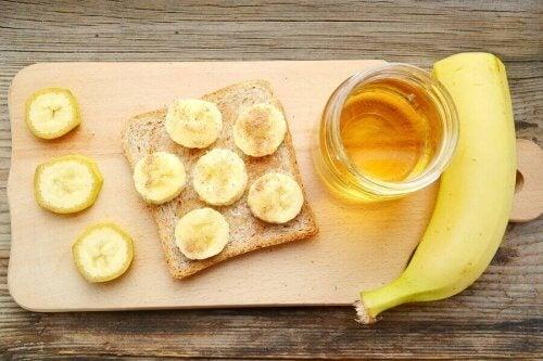ハチミツとバナナ
