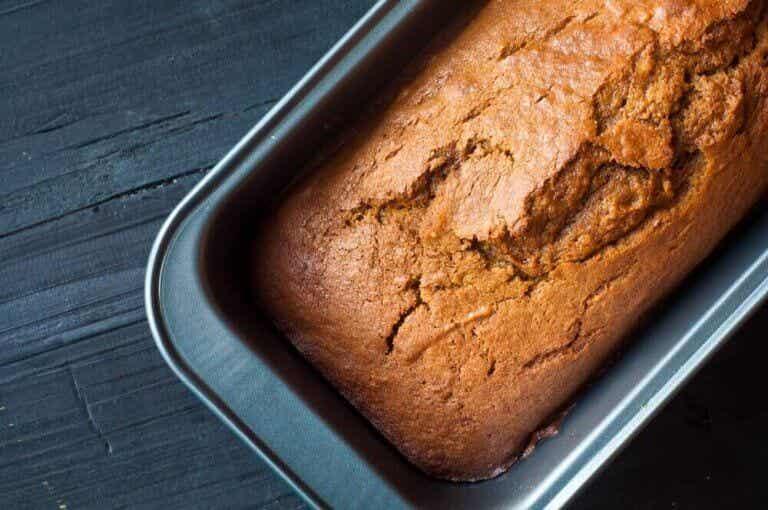 全粒小麦粉で作るおいしいかぼちゃケーキ