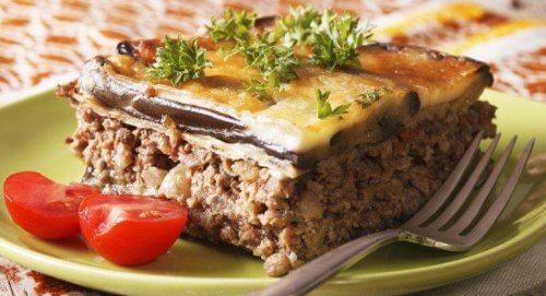ギリシャ料理ムサカ