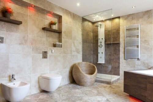 浴室のインテリアデザインアイディア9つ