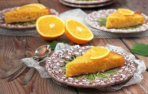 自宅で簡単に手作り!自家製オレンジケーキ