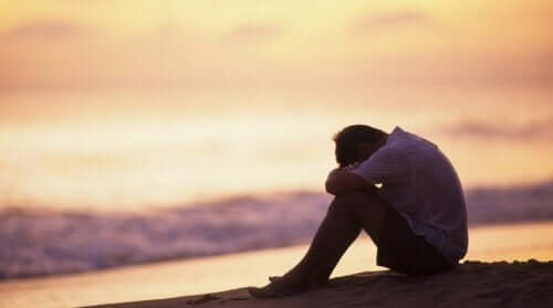 うつ病に悩む人