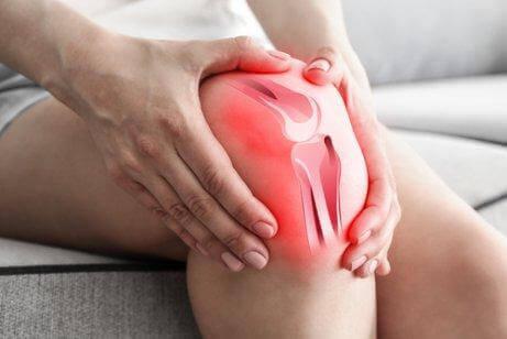 膝の痛みを抱える人