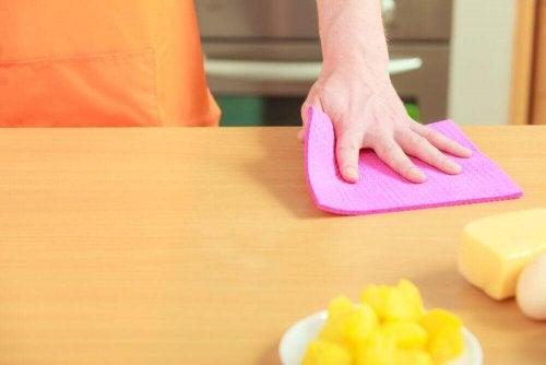 キッチンタオルの除菌をする4つの方法