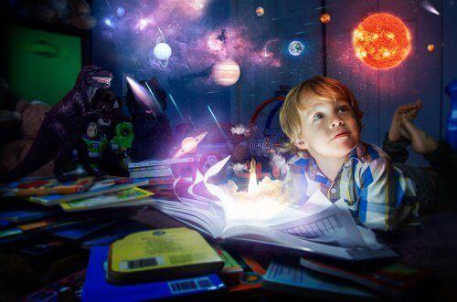 想像力豊かな子供
