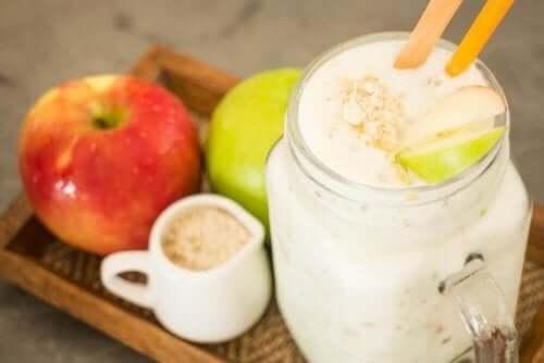 心臓の健康のためにーオーツ麦とりんご