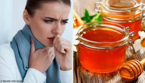 喉の痛みとハチミツ