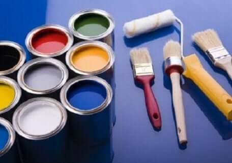 ペンキ 内壁の塗装
