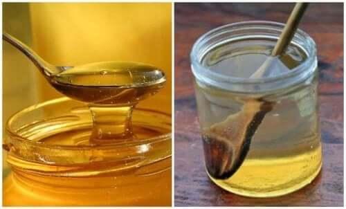 喉の痛みを和らげるハチミツ湯