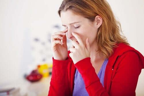 ミントを使って副鼻腔の炎症を緩和