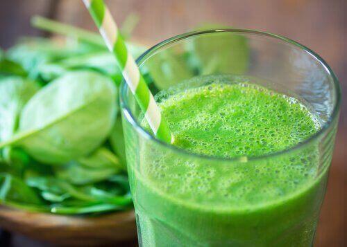 グリーンジュース バジル セージ 腎臓