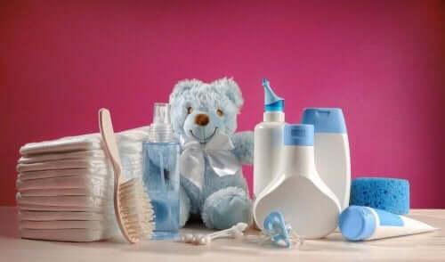 赤ちゃんの髪のお手入れに必要な製品 赤ちゃん 髪 お手入れ