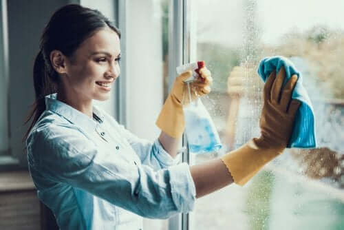 ガラスクリーナーの使い方