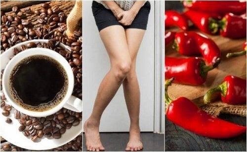 過活動膀胱が避けるべき5つの食べ物