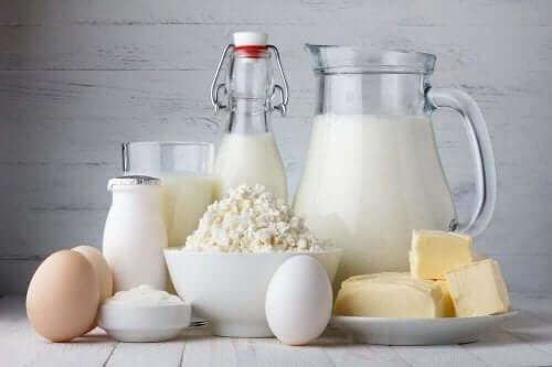 食事から肉類を排除する場合に役立つ乳製品