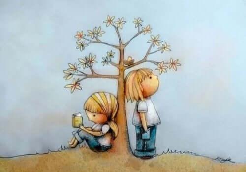 ドーマンメソッド:読書をする子供