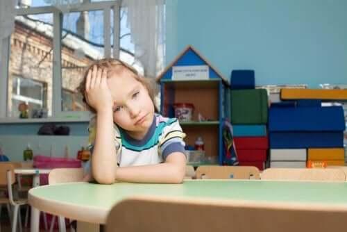 習い事で疲れている子供