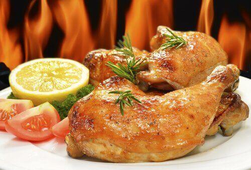 鶏肉のビール煮