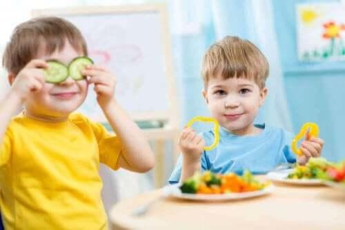 子供の食事に加えるべき食品