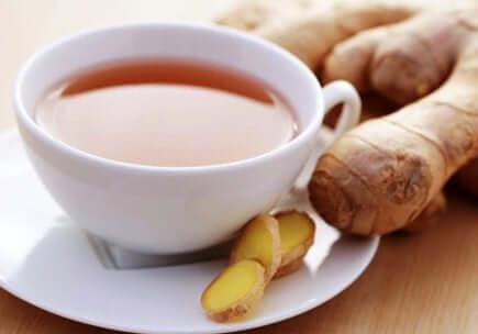 生姜茶 生理痛を和らげる
