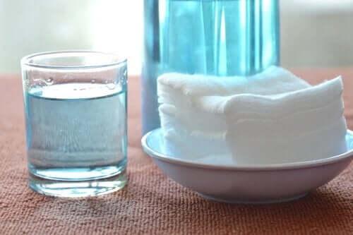 過酸化水素 オーブントレイの掃除