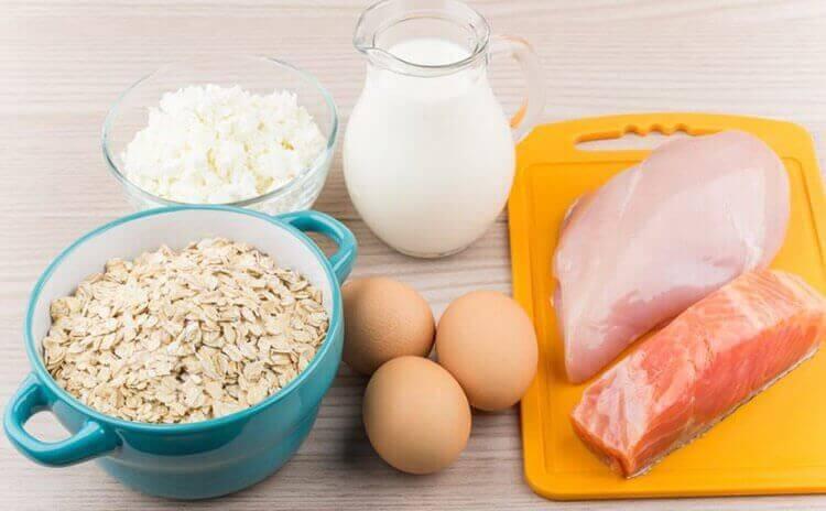 タンパク質を豊富に含む食品