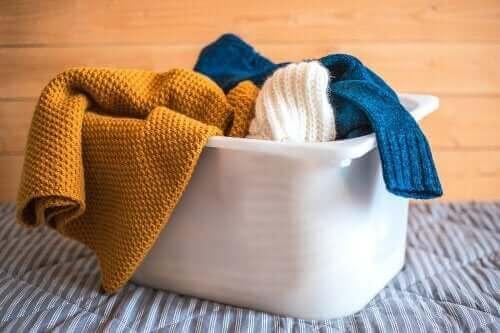 ウールの衣類を自宅で洗うためのヒント