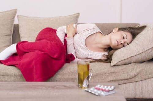 ツライ生理痛の緩和に役立つ自然療法