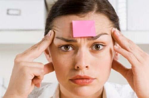 健忘症の症状と予防法
