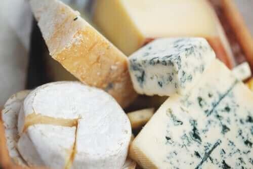 丸く小さい平らなチーズ