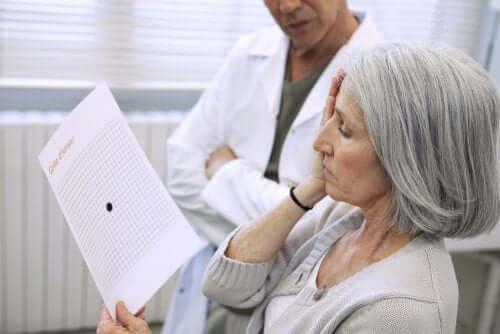 加齢黄斑変性 視力