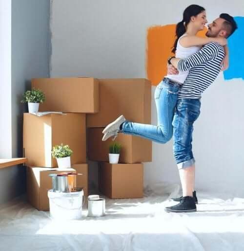 同棲を始める カップル