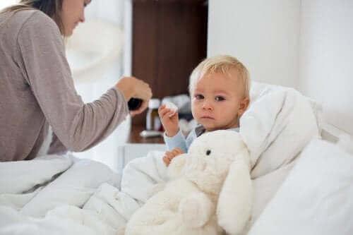 子どもが低体温症にかかったら?