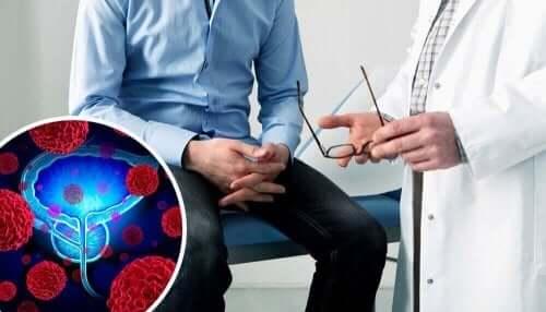 早期発見に役立てよう!前立腺がん検査の実施方法 診察を受ける男性