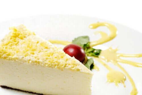 美味しいジンジャーケーキの作り方 チーズケーキ