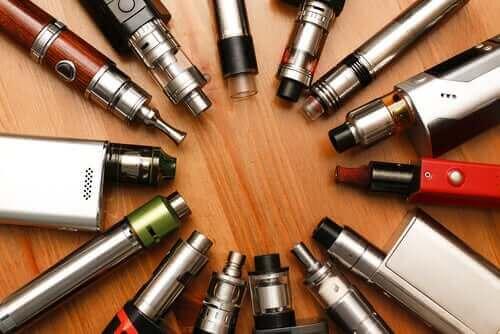 正しく理解しよう!電子タバコの持つ安全性への懸念 電子タバコの種類