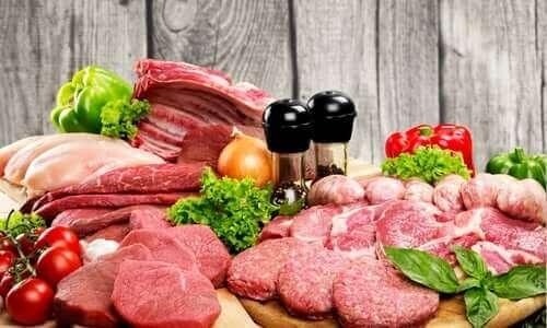 肉類の消費量を減らすための5つのアドバイス 様々な肉類