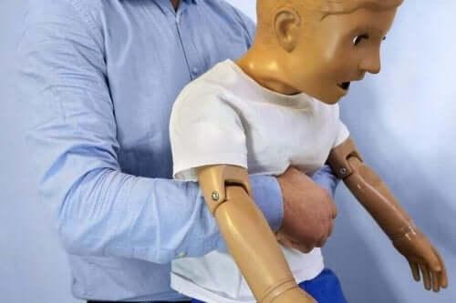 子どもの窒息 対処法