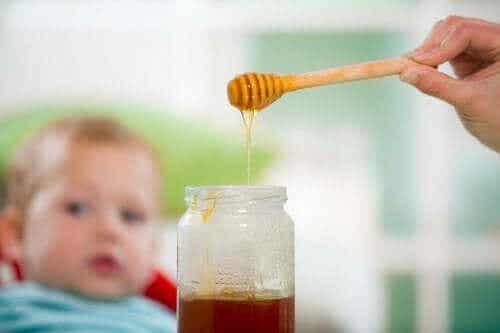 ハチミツと赤ちゃん:危険な組み合わせ