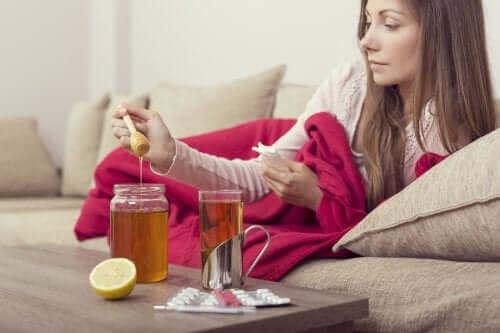 インフルエンザの緩和に役立つ蜂蜜療法3選