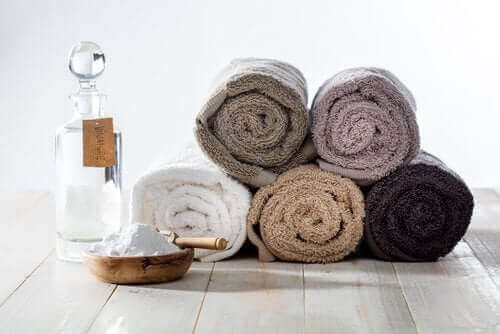重曹を使ってタオルを清潔にする方法