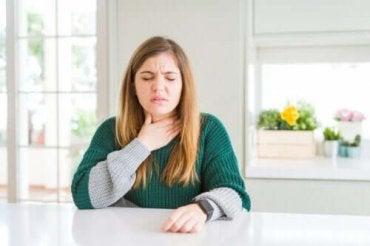 喉が痛いときの対処法