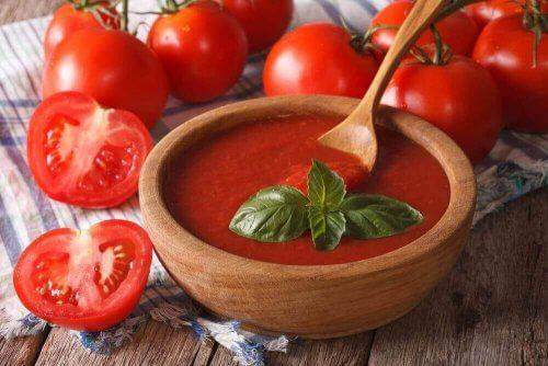 トマトのクリーミースープ 免疫力