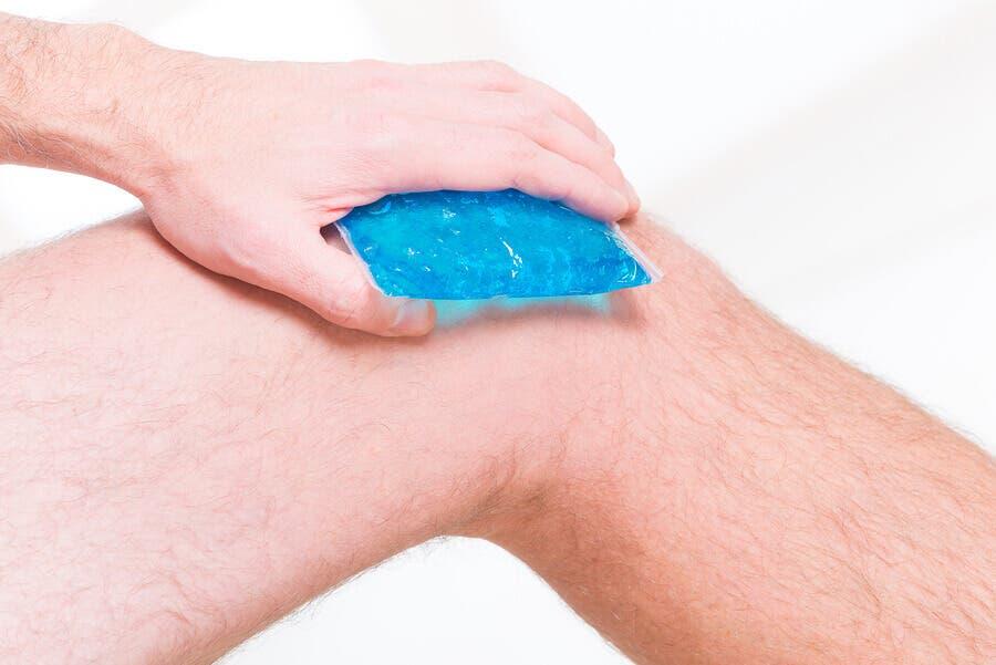 氷嚢 ランナー膝の治療