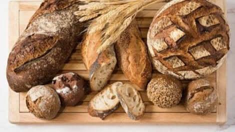 いろいろなパン 低炭水化物のパンレシピ