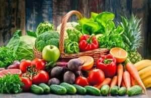 フルーツと野菜 乾癬の症状を抑える食べ物