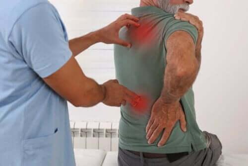 考えられる痛み 背中の痛み