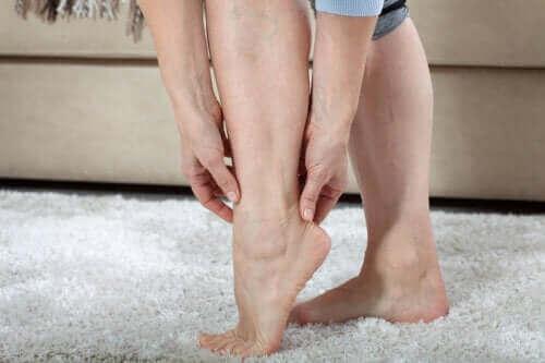 ヘビーレッグ:脚に感じる重たさ