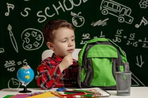 学校に行く準備をする子供 ディスレクシアの診断方法